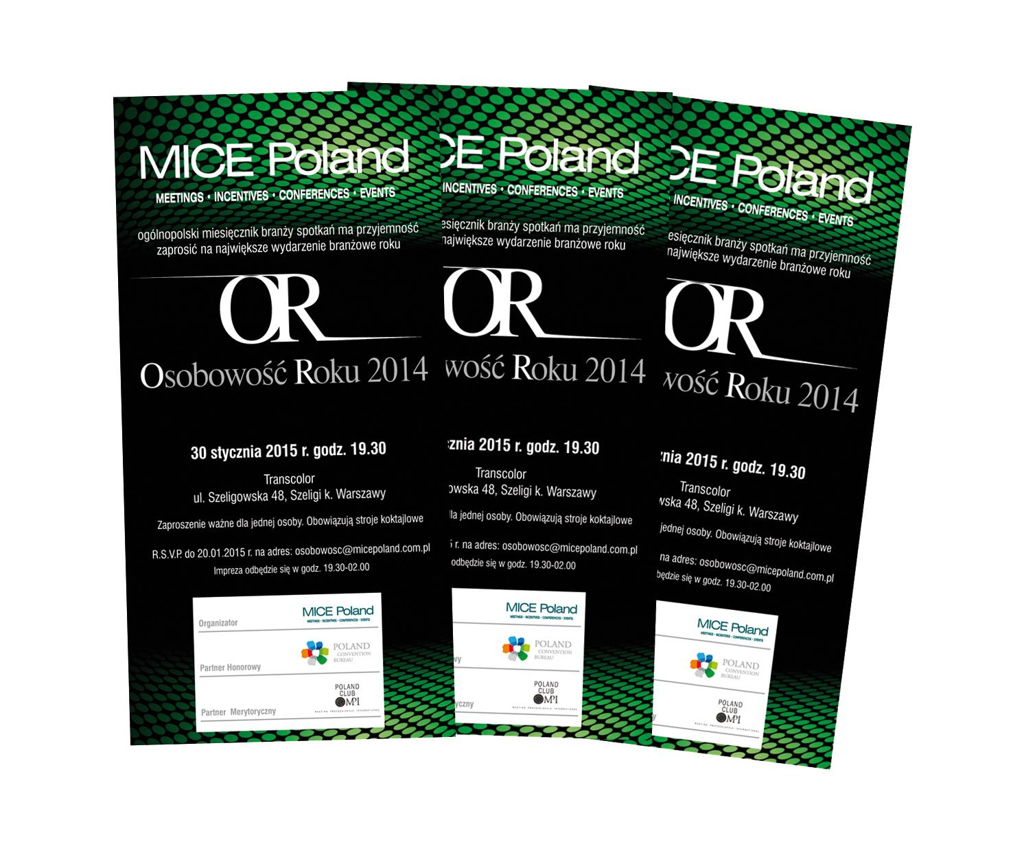 95e09bebc7e Ostatnie 30 minut - wylicytuj podwójne zaproszenie na Galę OR MICE Poland